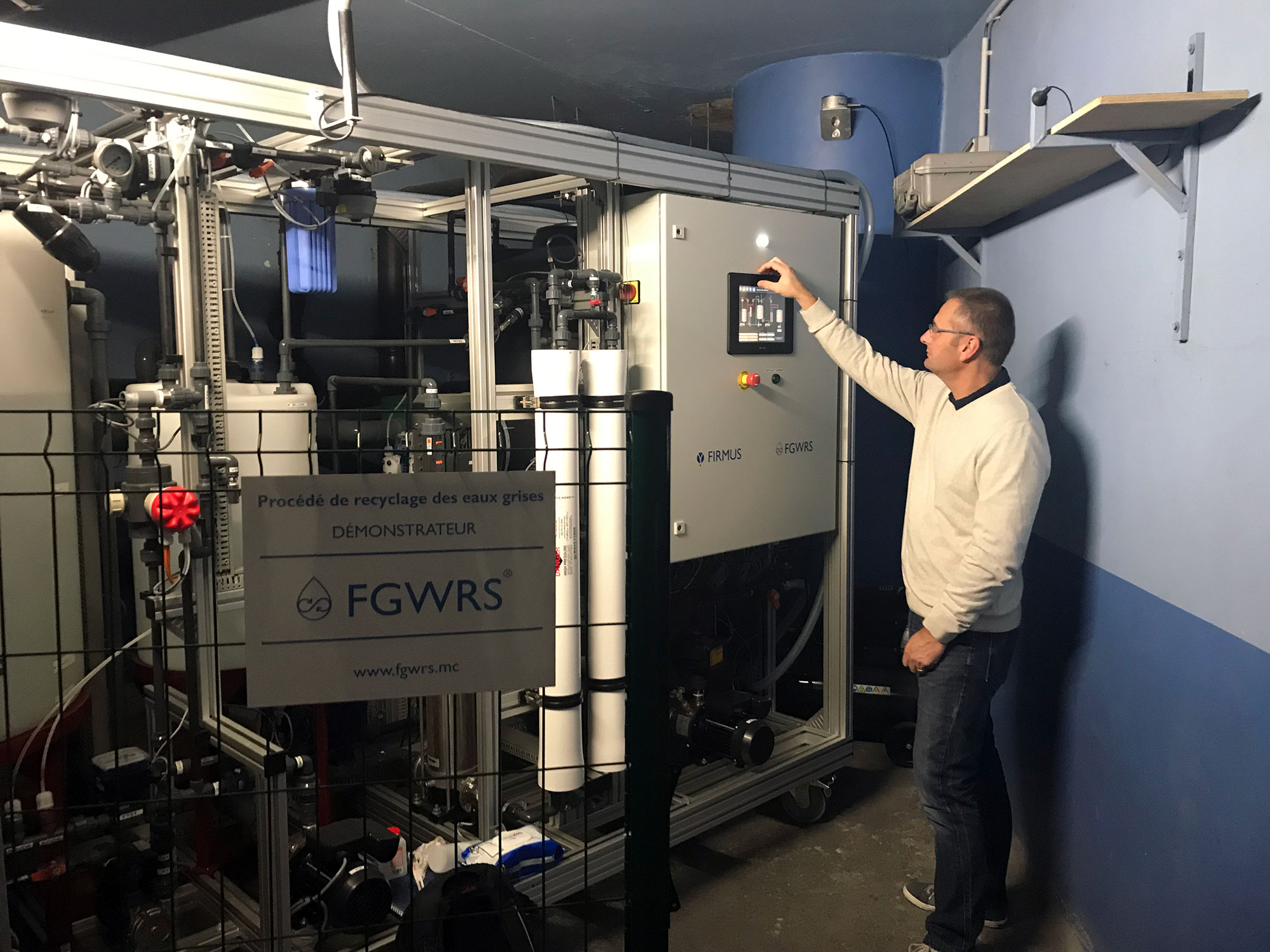 FGWRS Process Demonstrator: FAIRMONT MONTE CARLO