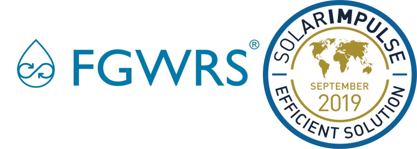 FGWRS® Obtient Le Label Solar Impulse Efficient Solution !